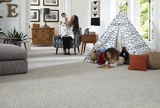 Carpet – makes a home feel lived in.
